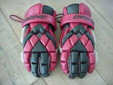 "Brine Vengeance Lacrosse Gloves Men's Size M/L 11"" - Red"