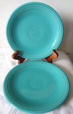 "Set of 2 Fiesta Ware Turquoise 6-1/4"" Bread Butter Plate HLC USA"