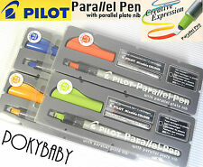 4 size 1.5+2.4+3.8+6.0mm Pilot Parallel Calligraphy pen with plate nib set