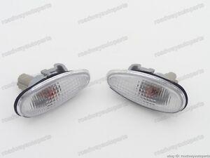Fender Side Marker Lamp Turn Signal Lights for Mitsubishi Outlander 2003-2006