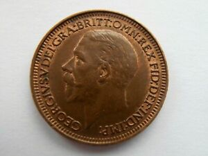 1931 - George V - Farthing - Some lustre - very collectable