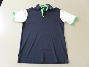 FootJoy Golf Polo - NEU - Größe M - blau - weiß - ungetragen