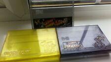 Super Famicom SFC Cassette Cartridge Case Super Mario World Kart Street Fighter