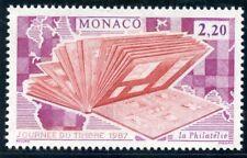 STAMP / TIMBRE DE MONACO N° 1577 ** JOURNEE DU TIMBRE / ALBUM DE TIMBRES
