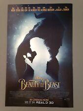 Cinema Poster: BEAUTY AND THE BEAST 2017 (Mini) Emma Watson Dan Stevens
