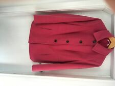 Marks and Spencer pink short button jacket size 18