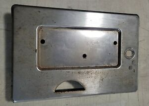 60s 70s Style GOTTLIEB Pinball Machine Coin Door Original shell only Used
