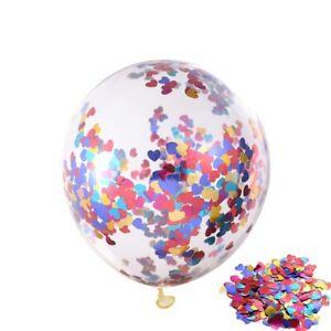 5/10/15/20 pcs Birthday Party 12inch Gold Confetti Latex Balloons Wedding Decor