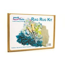 Peak Dale - Rag Rug Making Kit Tool Hessian Gauge and Instructions Rugkit