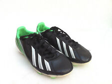 UK 3, Football Adidas F50 Adizero Synthetic Black/Green/White Cleats F50 Trx Fg