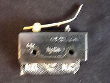 MICRO SWITCH 225 or250VDC .3A 125 VDC rocker arm switch