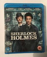 Sherlock Holmes Blu Ray/DVD/Digital 2-Disc FREEPOST VGC