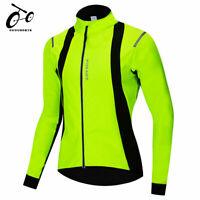 Winter Thermal Fleece Cycling Jackets Warm Bike Jerseys Bicycle Windstopper Coat