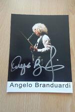Angelo Branduardi Autogramm signed 10x13 cm Postkarte