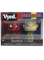 Funko Vynl Deadpool & Cable Vinyl Figure Set X-Forve Marvel Comics New In Box