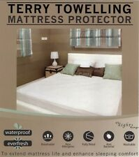 Cot Cotbed Mattress Protector Sheet Wet Matress Cover Waterproof Washable Gift