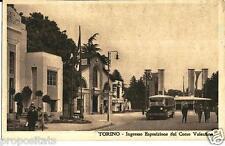 pi 069 1928 TORINO Esposizione 1928 Ingresso dal Corso Valentino - Viagg. FP