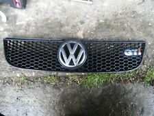 VW POLO 6N2 GTI COMPLETE FRONT GRILL WITH BADGE CONVERSION SE E TDI SDI 00-02
