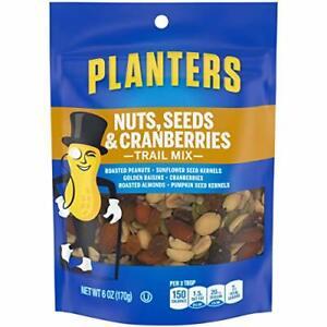Planters Nuts, Seeds & Cranberries Trail Mix (6 oz Pouch)