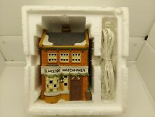 New ListingDept 56 Dickens Village Geo Weeton Watchmaker The Heritage Collection