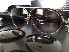 PORSCHE DESIGN by CARRERA Vntg Sunglasses Mod.5623/40(gold) NOS!FULL SET!