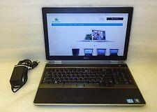 Dell Latitude E6520 2.80GHZ 4GB intel Core i7 160GB SSD Laptop windows 10 DVDRW