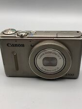 Canon Powershot S100 Silver Digital Camera {12.1 M/P}