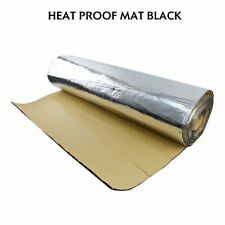 Heat Shield Insulation Soundproof Mat 18''x39'' - Noise Deadener Thermal Proof