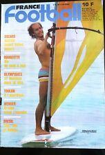 France Football du 31/07/1984; Anziani/ Six/ Olympiques/ Toulon/ Wenger/ Brésil