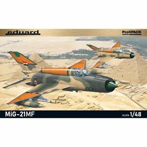 Eduard Edua8231 Soviet Cold War jet fighter plane MiG-21MF 1/48