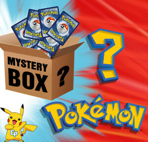 MYSTERY BOX POKEMON Carte ULTRA RARE GX EX STAR PROMO SHINY HOLO ITALIANO Lotto