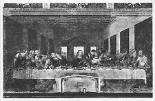 BF38823 the last supper leonardo da vinci painting  art postcard