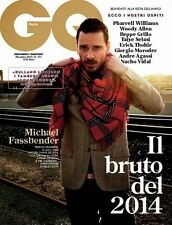 GQ,Michael Fassbender,Pharrell Williams,Woody Allen,Andre Agassi,Beppe Grillo