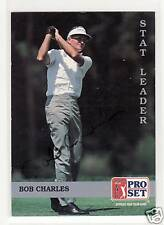 BOB CHARLES 1992 PROSET #275 AUTOGRAPHED GOLF CARD