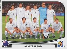 N°448 TEAM SQUADRA # NEW ZEALAND STICKER PANINI WORLD CUP SOUTH AFRICA 2010