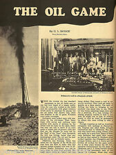 Oil Game of Seminole, Oklahoma + Genealogy