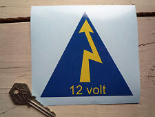 RACE CAR 1960's 1970's Style Electrical Cut Off Switch ID STICKER Racing 12 Volt