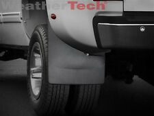 WeatherTech No-Drill MudFlaps - GMC Sierra Dually - 2008-2014 - Rear Set
