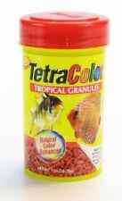TETRA COLOR BITS TROPICAL GRANULES 1.06 OZ FISH FOOD COLORBITS FREE SHIP USA