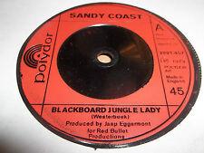 "SANDY COAST "" BLACKBOARD JUNGLE LADY "" 7"" SINGLE 1973 EXCELLENT"