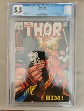 Thor #165 CGC 5.5 WHITE Pages 1st Appearance of HIM - Adam Warlock