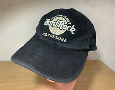 Official Hard Rock Cafe Barcelona Baseball Cap/Hat- Save The Planet- 100% Cotton