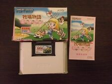 Harvest Moon Friends of Mineral Town Game Boy Advance GBA Gameboy jap