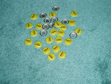 DEALERS LOT OF 100 TED'S ROOT-BEER BOTTLE CAPS TED WILLIAM'S ROOT-BEER