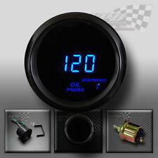 """Presión de aceite Medidor Digital De 2""""/52mm ahumado cara para personalizar Dash Pod"""