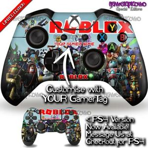 Roblox Decal - Xbox One Controller Skin - Youtuber Gamer Minecraft Gift Idea
