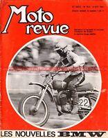 MOTO REVUE 1944 Dossier BMW R50 R60 R75 R50/5 R60/5 R75/5 GP Finlande Ulster 69
