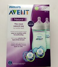 Philips Avent Natural Baby Bottle Teal Gift Set 9 oz /...