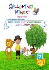Galloping Minds Preschooler Learns Numbers and Counting with Animals DVD