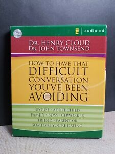 Book on CD 3hr How to Have That Difficult Conversation Henry Cloud John Townsend